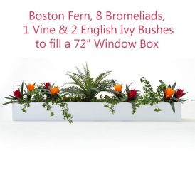 DIY Tropical Artificial Flower Recipe/Guidelines for Window Boxes