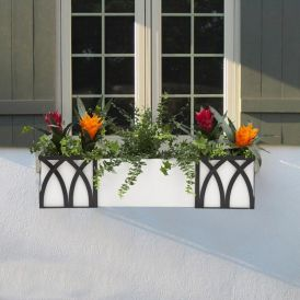 DIY Artificial Fern & Ivy Arrangements for Window Boxes