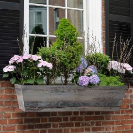 Modern Farmhouse Window Boxes - Distressed Reclaimed