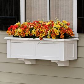 "XL Hampton Premier Window Boxes w/ ""Easy Up"" Cleat Mounting System- on Sale!"