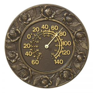 """12"""" Rose Thermometer"""