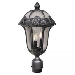 Roseridge Line Voltage Post Light Fixture