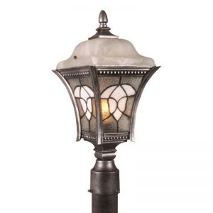 Amberley Line Voltage Post Mount Light Fixture