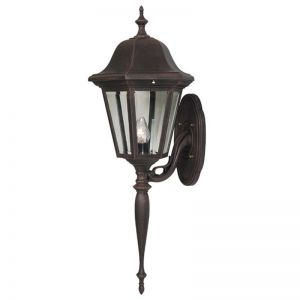Cloverlin Long Tail Line Voltage Bottom Mount Porch Light Fixture