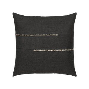 "Micro Fringe Pillow, 20""x20"" - 3 Colors Available"