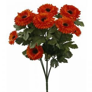 Artificial Aster Bushes - Partial Exposure UV Rated
