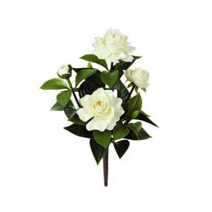 14in. Outdoor Artificial Gardenia Bush