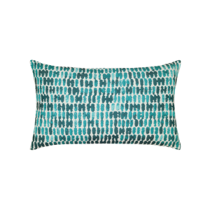 "Thumbprint Lumbar Pillow, 12"" x 20"" - 2 Colors Available"