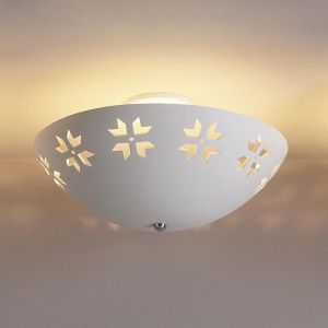 """18"""" Abstract Maple Leaf Ceiling Light"""
