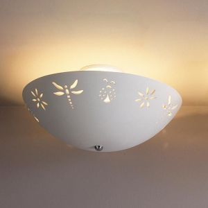 """18"""" Blooms & Bugs Ceiling Light"""