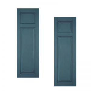 18in. Wide Classic Collection Raised 2 Unequal Panel Shutters (pair)