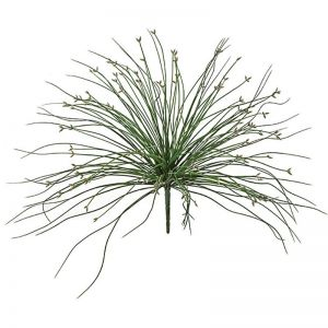 18in. Flowering Grass Bush - Outdoor