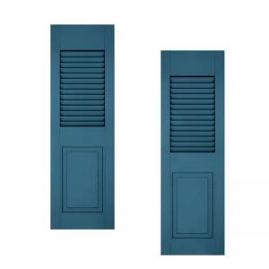 18in. Wide - Architectural Collection Combination Composite  Fiberglass Shutters (pair)