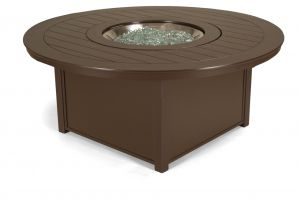 Large Round Fire Table Marine Grade Polymer