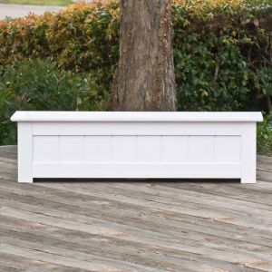 24in. Coronado Premier Deck Planter w/ Feet 12in. W x 12in. H