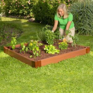 Raised Garden Featuring Composite Lumber