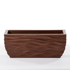 48in. Modern Wave ArmoreCoat Planter