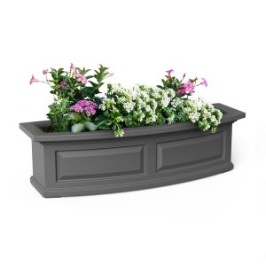 Presidential Window Boxes - Graphite Grey
