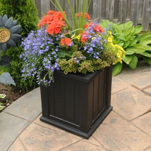 "Promenade 16"" Patio Planters - 3 Colors"