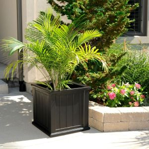 "Promenade 20"" Square Planter - 2 Colors"