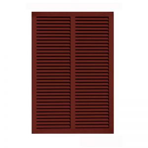 48in. Wide - Architectural Fiberglass Bahama Shutter w/ Hardware Kit (Non Storm Rated)