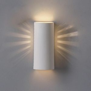 "5"" Contemporary Cylinder Sconce w/ Side Light Openings"