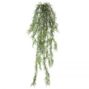 5 ft. Artificial Hanging Asparagus Bush - Outdoor Rated