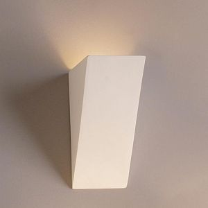 "5"" Oblique Geometric Sconce"