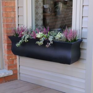 Parada Window Boxes - Black