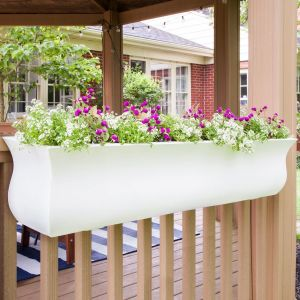 Parada Window Boxes - White