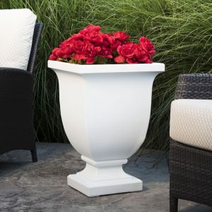 Julian 26 inch Tall Urn Planter - Choose from 4 Colors
