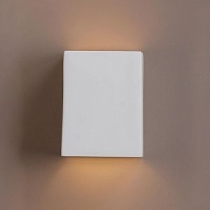 "6.5""  Ceramic Block Wall Sconce"