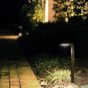 Single Balance Modern Low Voltage LED Path Light - 2 colors available