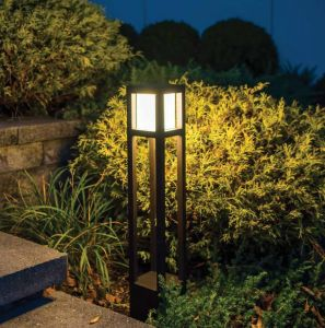 Modern Tower 120V Line Voltage LED Bollard - 2 Colors Available