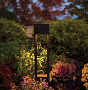 Modern Park 120V Line Voltage LED Bollard - 2 Colors Available