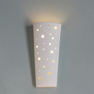 """7.5"""" Floating Orb Contemporary Wall Sconce"""