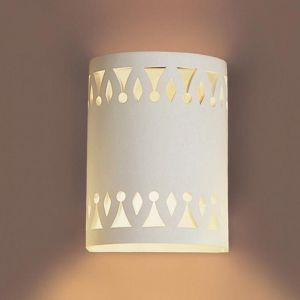 "7"" Full Drum Southwestern Sconce"
