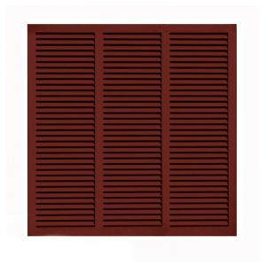 72in. Wide - Architectural Fiberglass Bahama Shutter w/ Hardware Kit (Non Storm Rated)