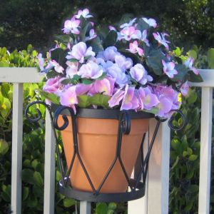 8in. Del Mar Decora Flower Pot Holder
