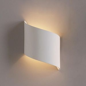"9""  Contemporary Ribbon Wall Sconce"