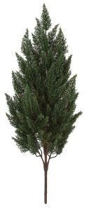 37in. Outdoor Rated Artificial Cypress