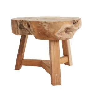"Burchen Wood Stand - 16"" Tall"