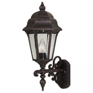 Ambergate Line Voltage Bottom Mount Porch Light Fixture