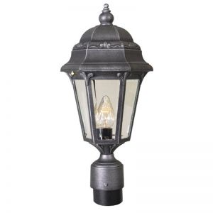 Ambergate Line Voltage Post Mount Light Fixture