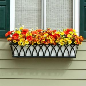 Arch Decora Window Boxes with Plastic Liners