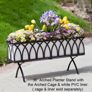 Arch Window Box Stand