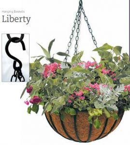Liberty Hanging Basket- 2 sizes available
