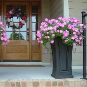 Camden Tall Patio Planters - Choose 3 Colors