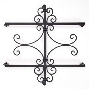 "36""L x 36""H Large Iron Decorative Exterior Accent"