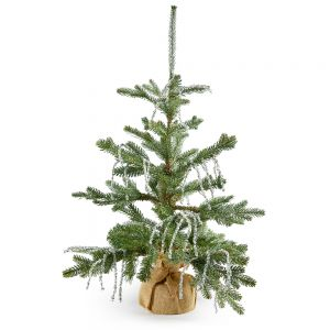 """36"""" Artificial Iced Pine and Twig Tree"""